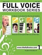 Cover of Full Voice Workbook Series Level 1