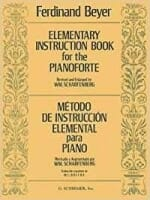 Cover of Elementary instruction book for piano by Ferdinand Beyer