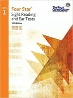 Cover of Four Star Sight Reading and Ear Tests