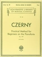 Cover of Czerny Method for Beginners on Piano