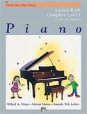 Cover of Alfred's Basic Piano for the Later Beginner, Book 1