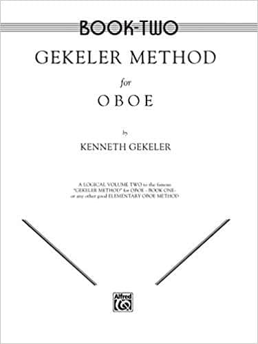 Cover of Book Two of Gekeler Method for Oboe