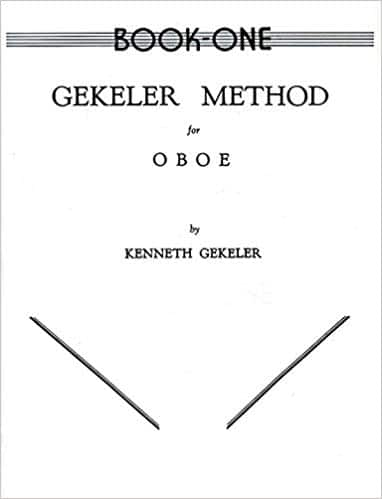 Cover of Book One of Gekeler Method for Oboe