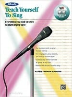 Cover of Alfred's Teach Yourself to Sing